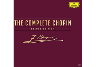 VARIOUS - The Complete Chopin Deluxe Edition - (CD + DVD Video)