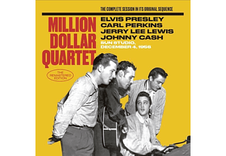 Elvis Presley, Carl Perkins, Jerry Lee Lewis, Johnny Cash, The Million Dollar Quartet - The Million Dollar Quartet: The Master Takes [CD]