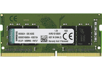 KINGSTON 8GB DDR4 2133MHz CL15 SODIMM Notebook Ram Bellek KVR21S15S8/8