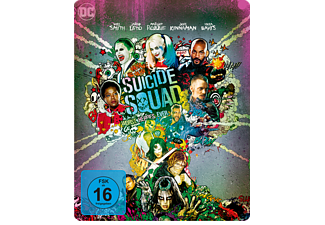 Suicide Squad (Steelbook) (Kinofassung & Extended Cut) [Blu-ray]