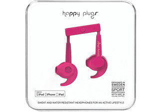 HAPPY PLUGS MFi Sport in-ear hörlurar - Rosa