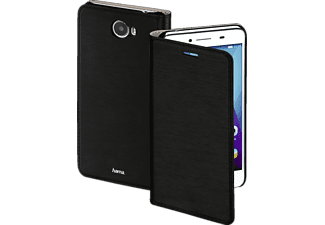 Slim  Huawei Y5 II High-Tech-PU Schwarz