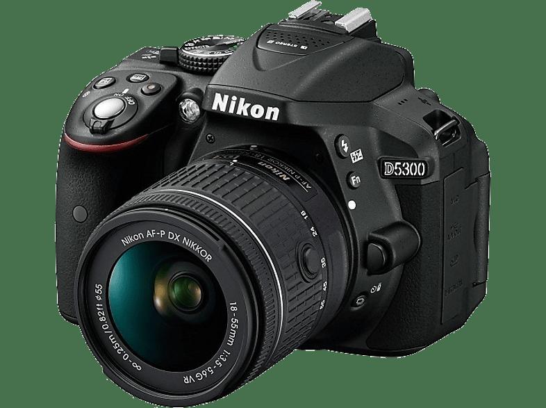 NIKON D5300 + AF-P 18-55 VR Black - (VBA 370 K007) photo   video   offline φωτογραφικές μηχανές dslr cameras hobby   φωτογραφία
