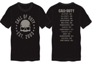 COD Skull Tour T-Shirt black M