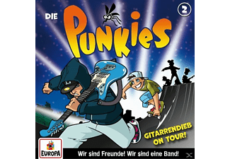 Die Punkies - 002/Gitarrendieb on tour! - (CD)