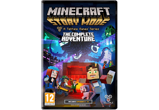Minecraft: Story Mode - The Complete Adventure (Episod 1-8) PS4