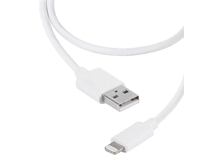 VIVANCO Laddkabel till iPhone USB till lightning 0.2 m - Vit