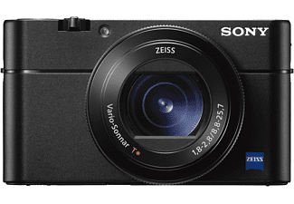 SONY DSC-RX 100 V Cybershot Digitalkamera, 20.1 Megapixel, 2.9x opt. Zoom, 4K, Full HD, Exmor RS CMOS Sensor, Near Field Communication, Autofokus, Bildstabilisator, Schwarz