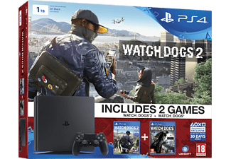 SONY PlayStation 4 1 TB Watch_Dogs Bundel