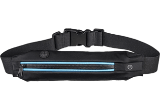 "HAMA ""Active"" Sports Waist Bag for Smartphones, with LEDs, blue"