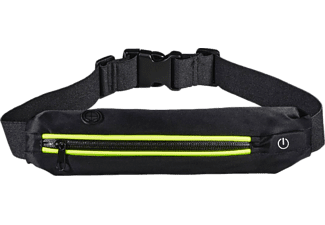 "HAMA ""Active"" Sports Waist Bag for Smartphones, with LEDs, yellow"