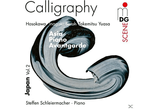 Steffen Schleiermacher, Toshio Hosokawa - Calligraphy-Asia Piano Avantgarde-Japan Vol.2 - (CD)