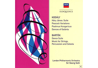 The London Philharmonic Orchestra - Orchesterwerke von Kodaly und Bartok - (CD)
