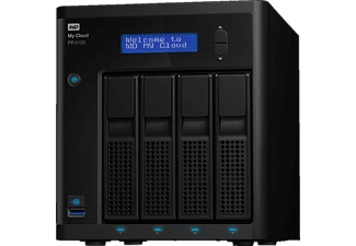 WD My Cloud™ Pro Series PR4100, 32 TB, NAS-Server, extern, Schwarz