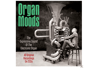 VARIOUS - Organ Moods - (CD)