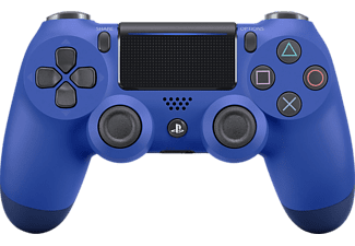 SONY PS4 Wireless Dualshock 4 Controller Redesigned Blau, Controller