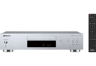 PIONEER PD-10 AE-S, CD-Player, Silber