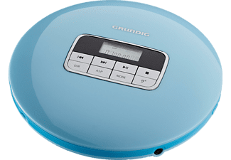 GRUNDIG CDP 6600, Tragbarer CD-Player, Blau