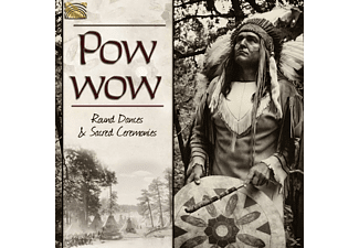 VARIOUS - Pow Wow-Round Dances & Sacred Ceremonies - (CD)
