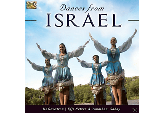 HAGEVATRON & INSTRUMENTAL BAND W. EFI NETZER & YON - Dances From Israel - (CD)