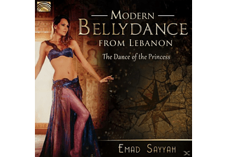 The - Emad Sayyah Dance Of The Princess - Modern Bellydance From Lebanon - (CD)