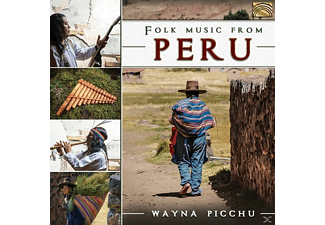 Wayna Picchu - Folk Music From Peru - (CD)