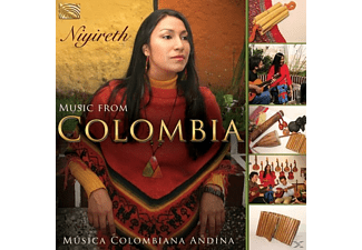 Niyireth Alarcon - Music From Colombia - (CD)