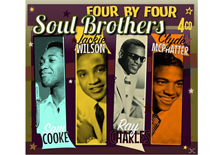 Soul Brothers (cdx4) - Four By Four-Soul Brothers - (CD)