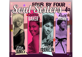 Soul Sisters (cdx4) - Four By Four-Soul Sisters - (CD)
