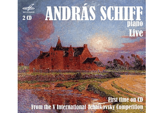 András Schiff, Moscow Radio Symphony Orchestra - Andras Schiff live: 5.Int.Tchaikovsky Comp. - (CD)