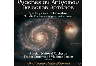 Currentzis/Ponkin/Russian National Orchestra - Gentle Emanation/Tristia II - (CD)