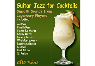 Reinhardt/Burrell/Byrd/Montgomery/Atkins/+ - Guitar Jazz for Cocktails - (CD)