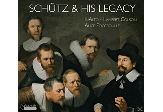 Fouccroulle,A./Colson,L./Ensemble InAlto - Heinrich Schütz and his Legacy - (CD)