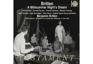 Britten. English Opera Group Orchestra - A Midsummer Night's Dream - (CD)