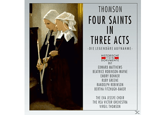 The Eva Jessye Choir/The Rca Victor Orchestra - Four Saints In Three Acts - (CD)