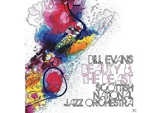 Bill Evans, Scottish National Jazz Orchestra - Beauty & The Beast - (CD)