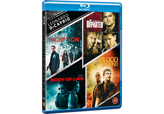 Leonardo DiCaprio Collection Thriller Blu-ray