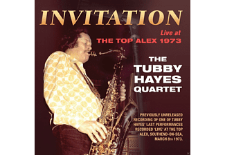 Tubby Quartet Hayes - Invitation: Live at The Top Alex 1973 - (CD)