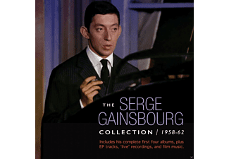 Serge Gainsbourg - The Serge Gainsbourg Collection 1958-62 - (CD)