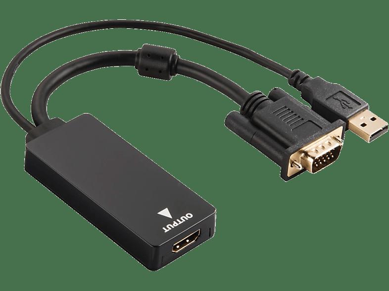 HAMA VGA to USB Converter for HDMI laptop  tablet  computing  περιφερειακά καλώδια υπολογιστών τηλεόραση   ψυχαγωγί