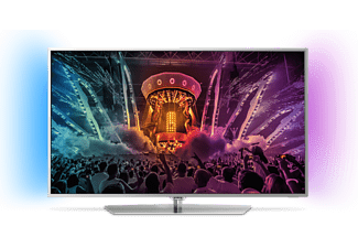 "PHILIPS 49PUS6551/12 49"" Smart 4k UHD TV - Silver"