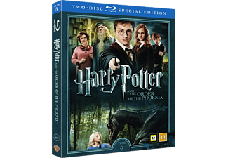 Harry Potter och Fenixorden Äventyr Blu-ray