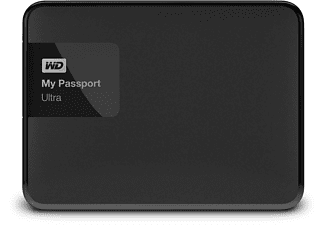 WD My Passport Ultra 2TB Zwart