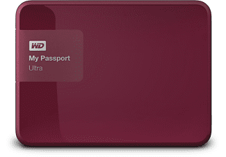 WD My Passport Ultra 1TB Berry
