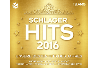 VARIOUS - Schlager Hits 2016 - (CD + DVD Video)