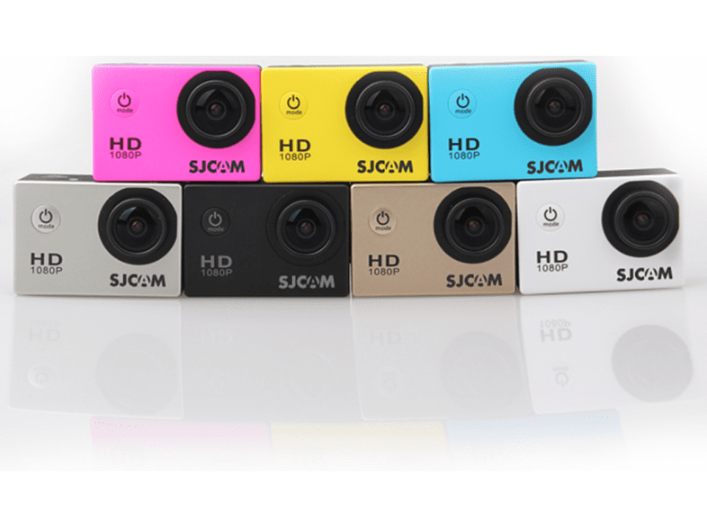 SJCAM SJ4000 sportkamera vízálló tokkal piros