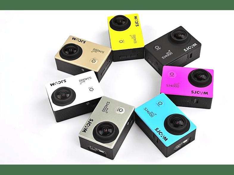SJCAM SJ4000 Plus WiFi sportkamera vízálló tokkal fekete