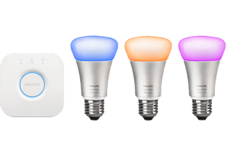 PHILIPS Lampkit, Hue White and color ambiance Bulb 9.5 W