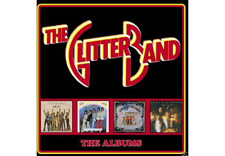 The Glitter Band - The Albums-Deluxe 4CD Boxset - (CD)
