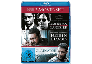 Russell Crowe Collection: American Gangster, Robin Hood, Gladiator - (Blu-ray)